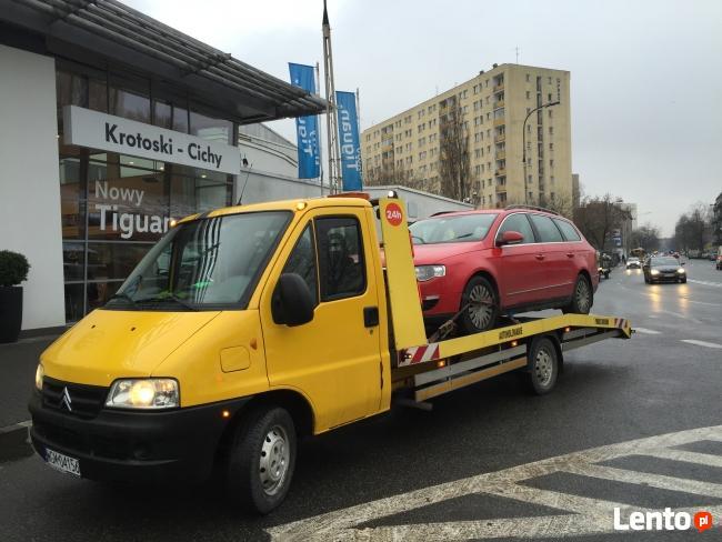 Tanio Holowanie Laweta Pomoc Drogowa Warszawa 24h