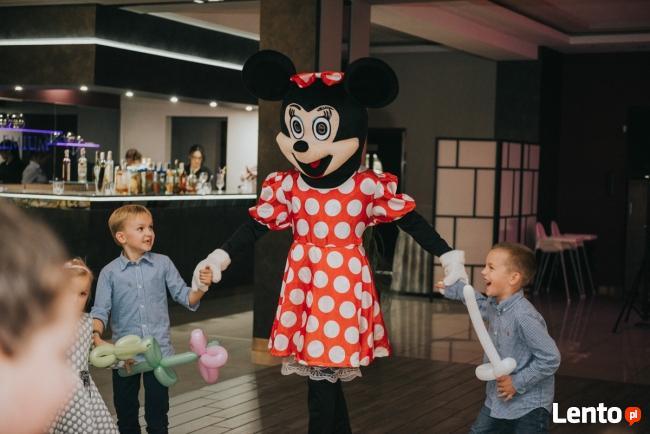 Maskotka reklamowa Myszka Minnie Festyny wesela urodziny