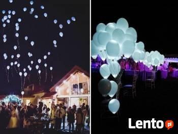 Balony Hel Balony ledowe świecące Balony z helem