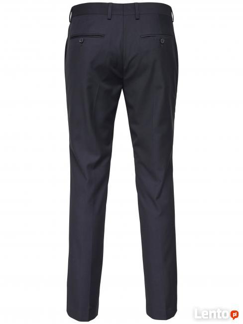 USA spodnie garniturowe - wizytowe- eleganckie