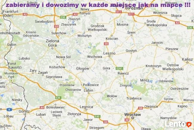 TenBus Busy Holandia Niemcy Głogów Wschowa Sława Świebodzin