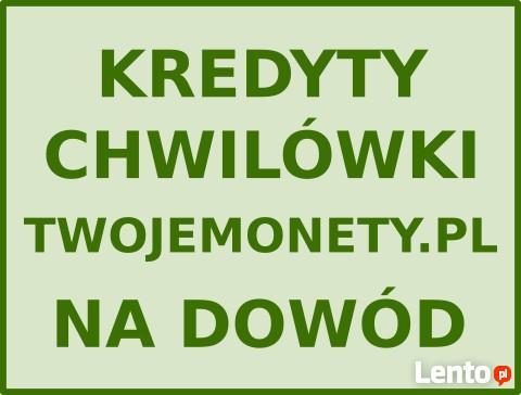 CHWILÓWKI NA DOWÓD pozabankowe pożyczki bez bik. Kredyty BIG