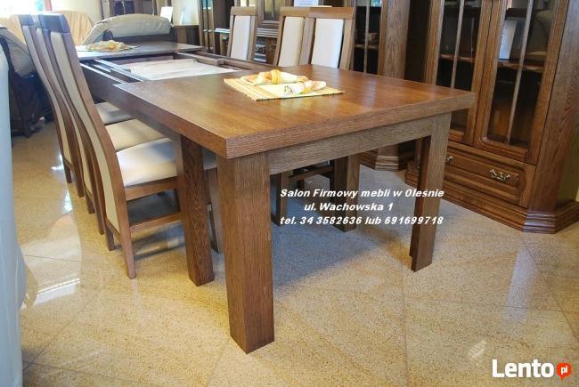 Nowy Stół Dębowy Kuba Ii 200cm Rozkładany Do 400cm Producent Olesno