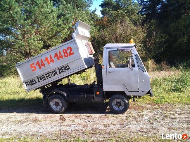 transport multicarem beton ziemia kamień kraków i okolice