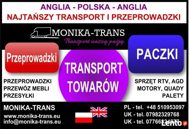 Monika-Trans Najtańszy Transport i Przeprowadzki