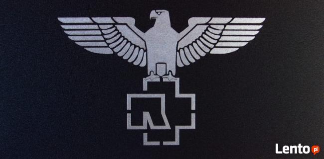 Rammstein - Obraz wykonany ręcznie metodą grawerowania...