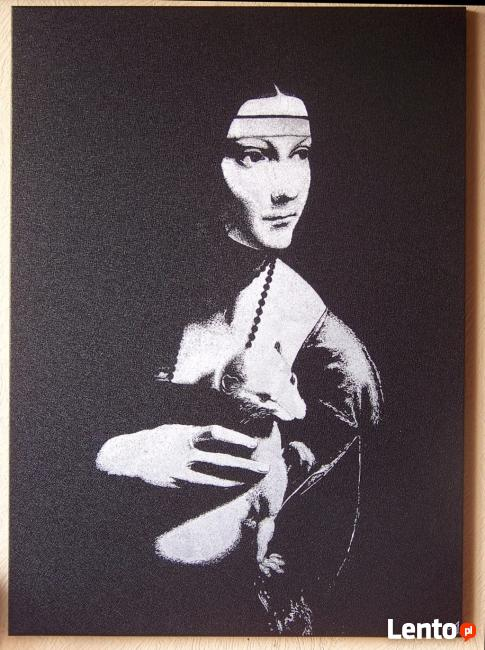 Dama z gronostajem łasiczką LEONARDO DA VINCI