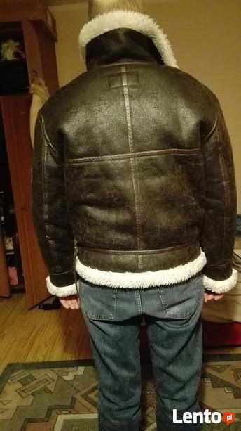 Kurtka męska zimowa ciepła na futerku rozm. XL