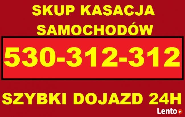 Złomowanie samochodów skup.tel.501-525-515 kasacja całodobow