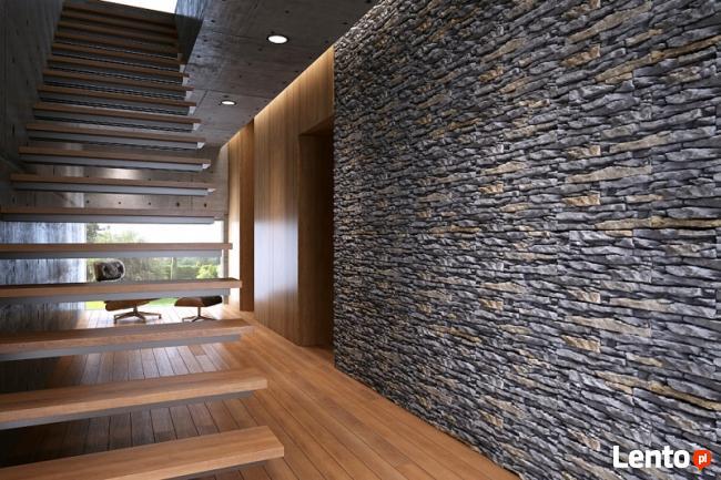 Kamień Dekoracyjny Cegły z Fugą Panele 3D - Płytki do Wnętrz