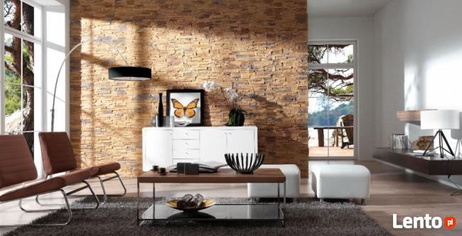 Kamień Dekoracyjny, Ozdobny, Naturalny, Panele 3D - CEGŁA