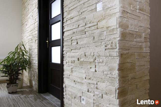 Kamień Dekoracyjny Ozdobny Naturalny Panel 3D Cegła z Fugą