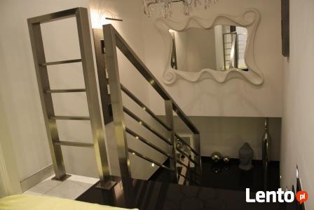 Balustrady nierdzewne schody zabiegowe barierki inox Małopol