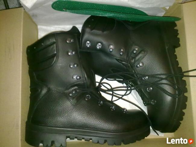 Solidne ZIMOWE buty SKÓRZANE rozmiary 41, 42, 43