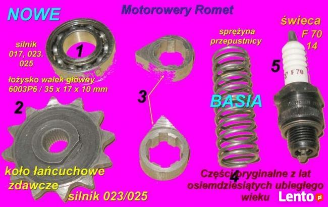 Sprzedam części do polskich motorowerów Romet.