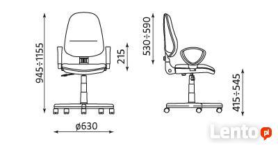 Krzesło Perfect Nowy Styl szare. Szybko z dostawą