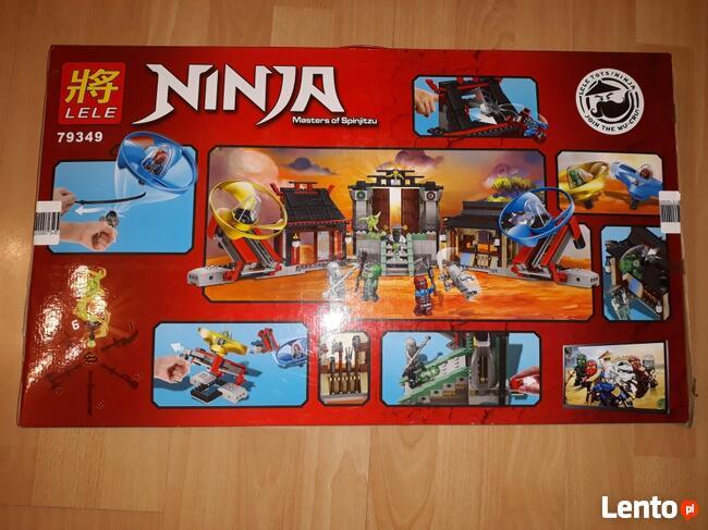 LEGO NINJA AIRJITZU 79349 PLAC BITEWNY