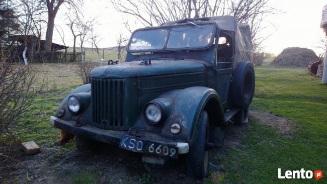 Gaz 69 Uaz 4x4 zabytek 1959 willys patrol zamiana zamienie