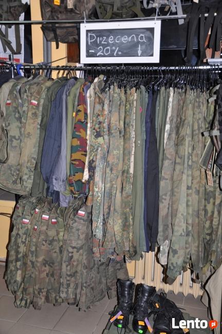 wyprzedaż- mundury i buty wojskowe szpej ASG-Sklep Ciechanów