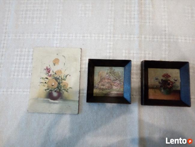 akwarele miniatury