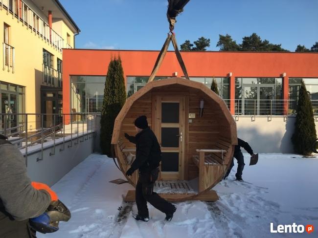 Sauna 4 metrowa - WYNAJEM