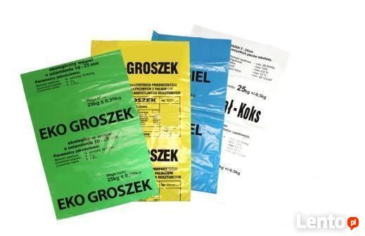 Producent worków foliowych oferuje worki na węgiel, ekogrosz