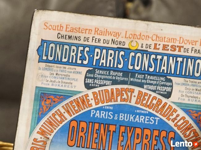 STARE PLAKATY NA DESCE_Orient Express 1888 R.