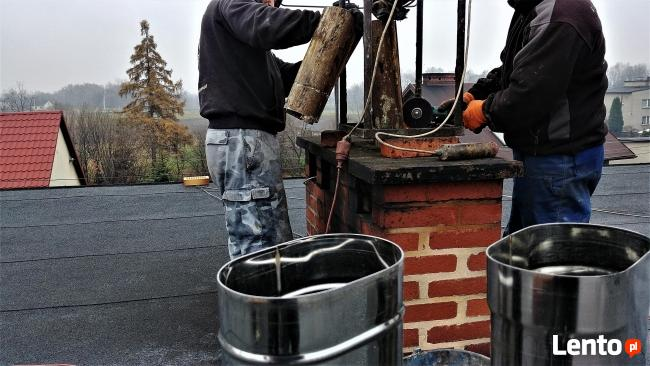 Frezowanie kominów powiększanie wkłady kominowe