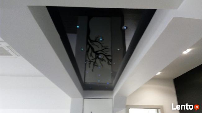 Sufit napinany remont dekoracja