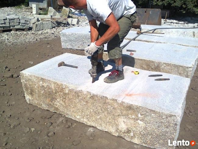 Kostka granitowa producent układanie