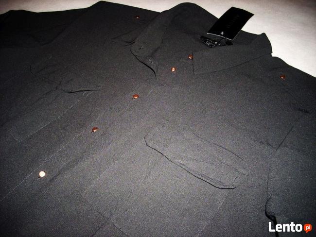 NEW YORKER Koszula Roll-Up Złote guziczki NOWA 40 L