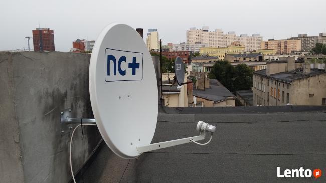 Montaż Naprawa Anten Satelitarnych Łódź: NC+,Cyfrowy Polsat