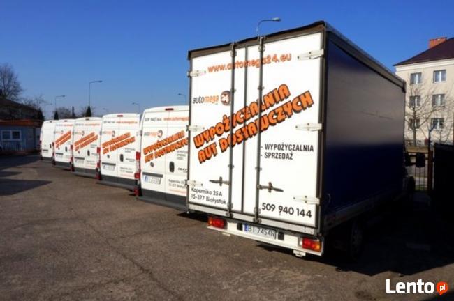 wypożyczalnia aut dostawczych Średnie, Maxi, Kontenery