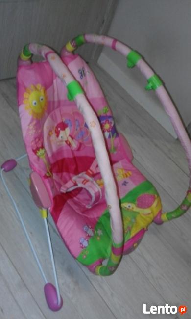 Leżaczek Tiny Love różowy
