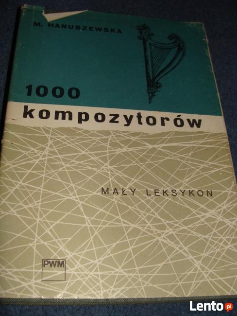1000 komozytorów mały leksykon