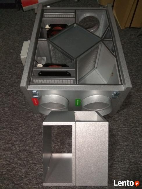 Centrala wentylacyjna z rekuperacją 650m3