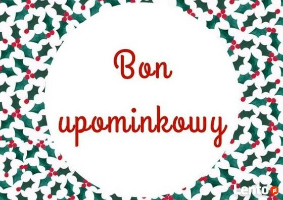 Świąteczny Prezent - Bon Upominkowy na Masaż inne zabiegi.