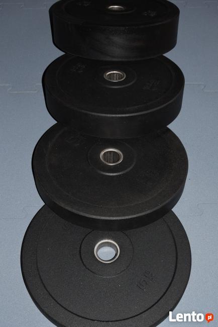 Komplet obciążeń do siłowni bumpery krążki