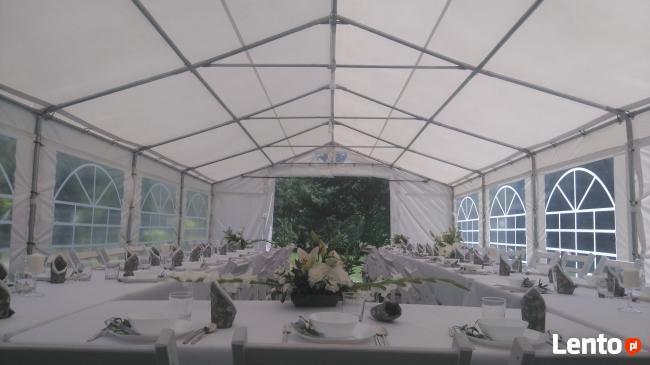 namiot na impreze wynajem sala lokal komunia wypożyczalnia