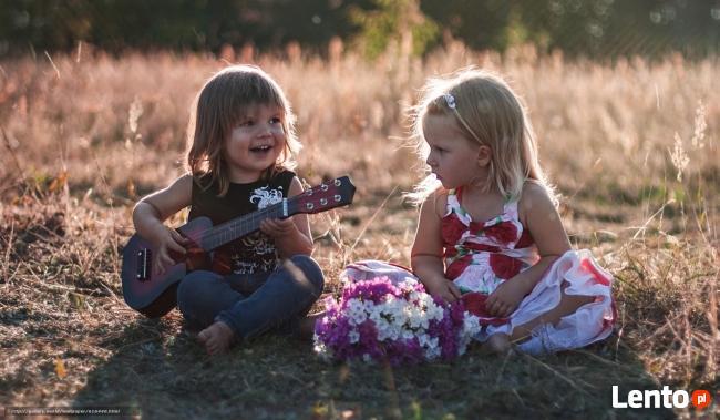 Nauka na ukulele,gitarze lub keyboardzie- dojazd do ucznia.