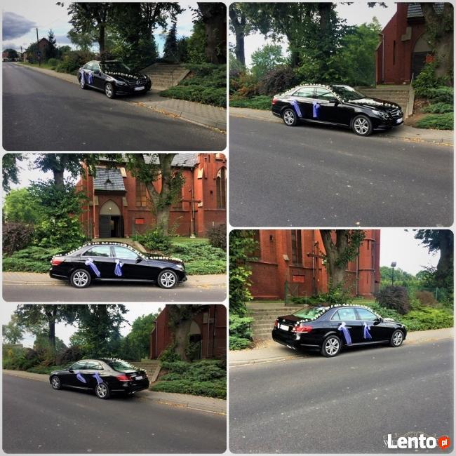 Auto do ślubu, luksusowe auto ślubne, Mercedes do ślubu