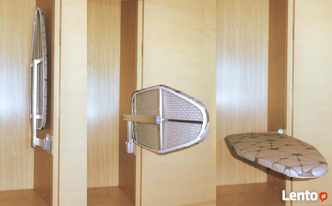 Deska do prasowania do zabudowy wysuwana z szafy 115 x 33 cm
