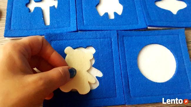 Puzzle filcowe - zabawki