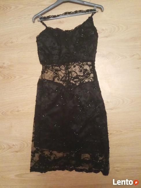 c5c7d73472 Sukienka czarna sylwestrowa Radom