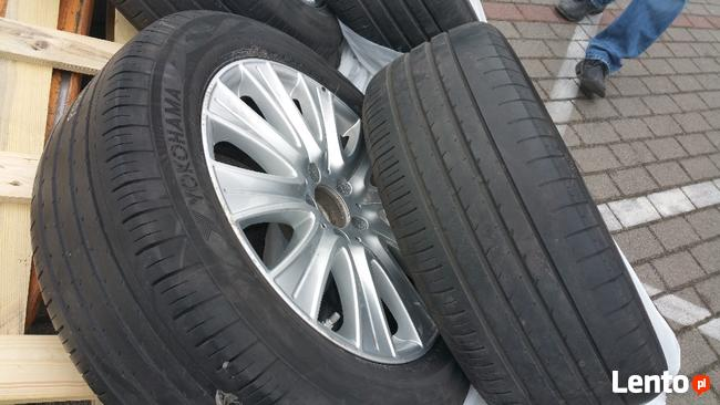 Okazja Mercedes Felgi 18 5x112,opony Yokohama adavan sport 2