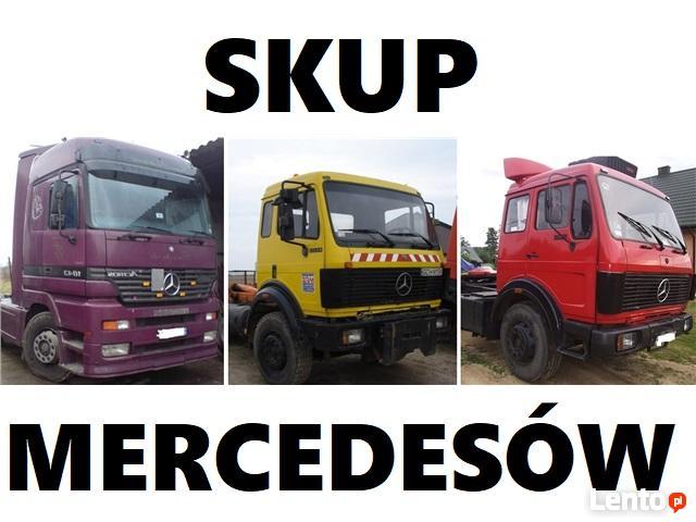 Skup Aut ciężarowych: volvo, Mercedes, Man, daf iveco