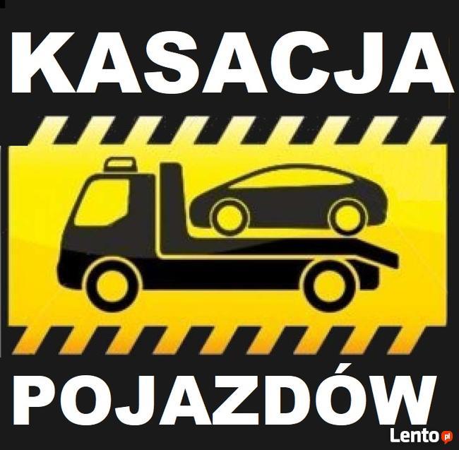 SKUP AUT Kasacja Pojazdów GDAŃSK I OKOLICE CAŁE POMORSKIE