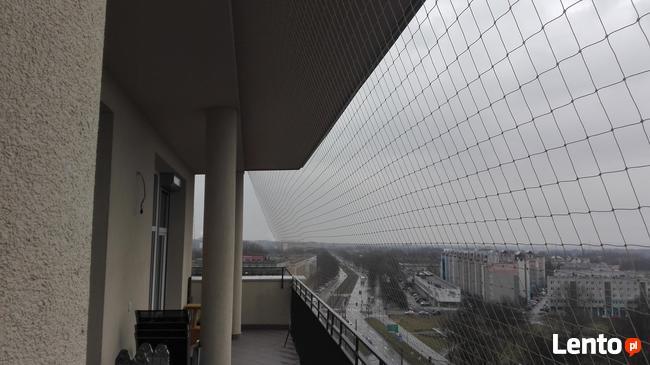 Siatka przeciw gołębiom na balkon. Siatka na balkon.