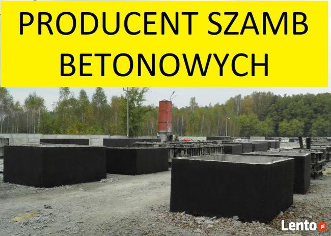 Cały kraj szamba szambo betonowe 4 5m3 6m3 7 8m3 9 10m3 12m3