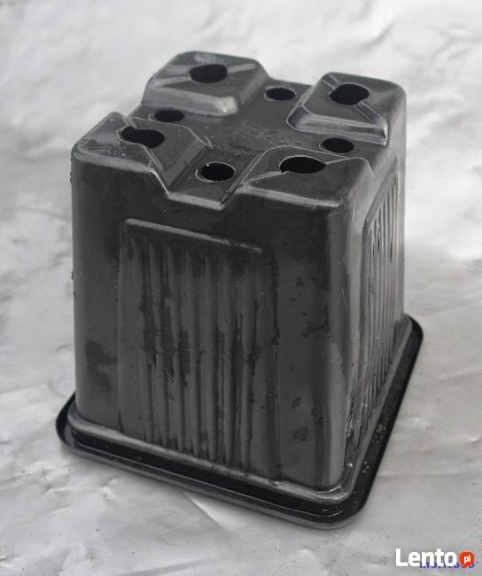 Doniczka produkcyjna kwadratowa 8x8/8cm 100szt WROCŁAW